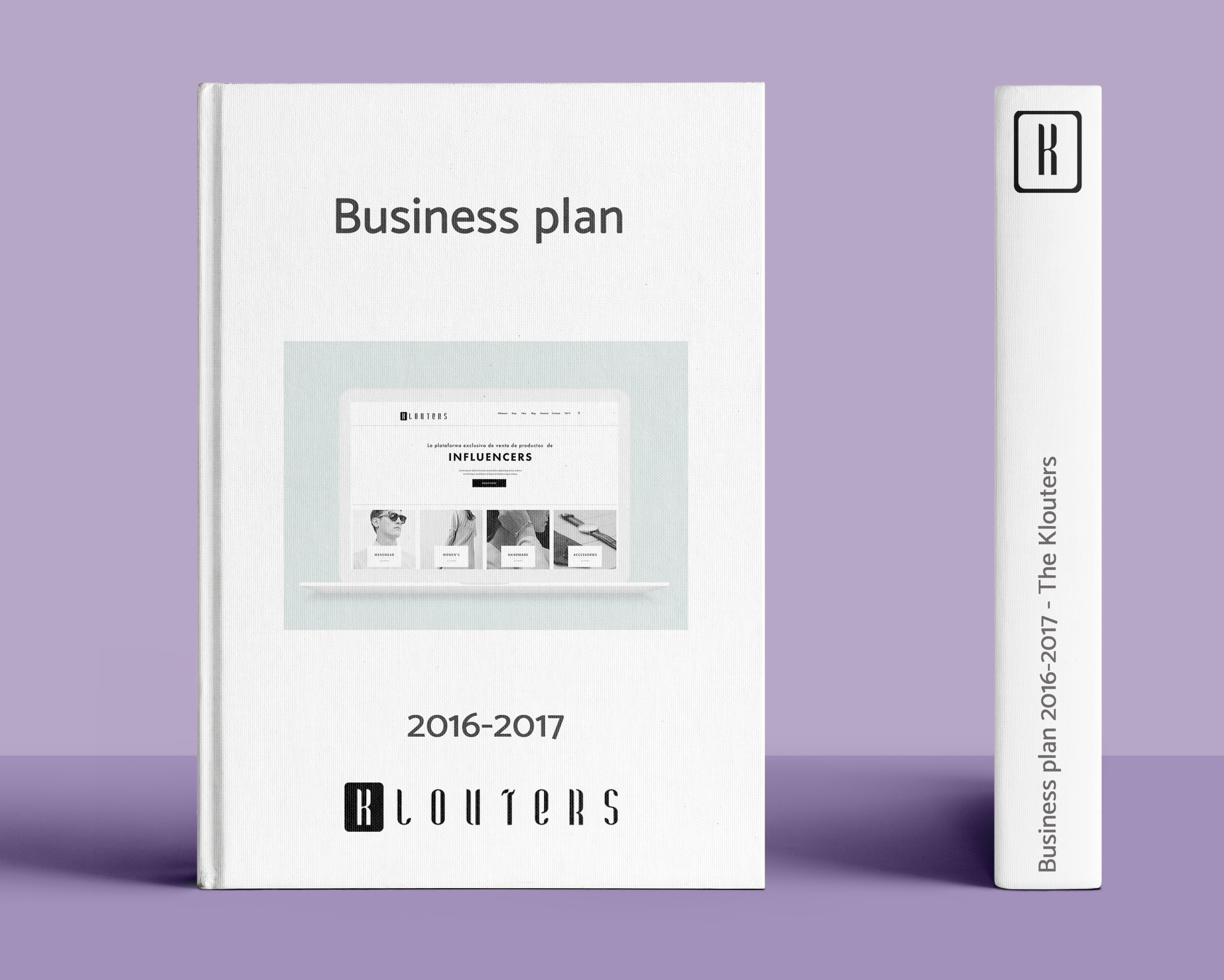Mockup Business plan The Klouters